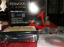 OLD SCHOOL KENWOOD EXCELON KDC-X789 CD-RECEIVER!!  KTC-HR200 HD RADIO SET!! NEW