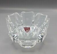 "ORREFORS crystal 2004 SWEET HEART Christmas Ornament No Box 3-1//4/"""