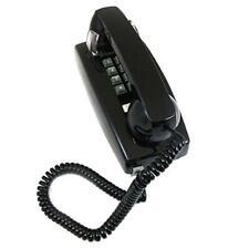 Cortelco ITT-2554-VOE-BK Wall Mount Corded Telephone ADA Compliant Black