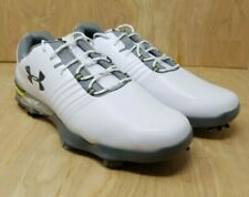 Under Armour Match Play Mens Golf Shoes 3019893-101 White Size 10 Medium