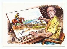 CARTOLINA PROMOZIONALE Expo Cartoon Galep con Tex Willer