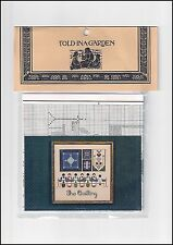 """Toad-In-A-Garden #TG-1 """"The Quilting"""" Counted Cross Stitch Chart"""