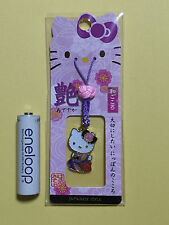 F/S Hello Kitty Japanese Style Glossy Key Chain Strap Accessory from Japan