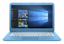 """New listing Hp Stream 14-ax010nr 14"""" (32Gb, Intel Celeron N, 1.60Ghz, 4Gb) Laptop - Blue."""