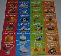 Lot Books SEASONS Easy Reader PreK Kindergarten Homeschool Guided Level ABCD