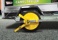 "Trailer, Caravan & Motor home 8"" - 10"" Security Anti Theft Wheel Tyre Lock Clamp"
