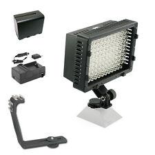 Pro XB-12 LED on camera video light F970 for JVC AVCHD HD HDV 3D camcorder DV