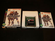 Metal Gear Ghost Babel Nintendo Game Boy Japan