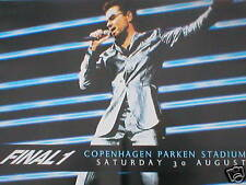 George Michael Final 1 Official EX Tour Poster 70 X 50 Wham RARE Original