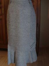 Longue jupe 38 40 CHRISTINE LAURE grise NEUVE