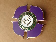 Suffragette Badge Brooch Jewellery Suffragettes Loyal Service Rosette