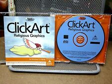 Clickart Religious Graphics contains 5,000 images Cd-Rom 1999