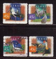 Australia--#1536-39 Used--Birds