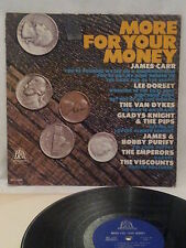 MORE FOR YOUR MONEY w/JAMES CARR, LEE DORSEY, BELL RECORDS MONO BELL-6009