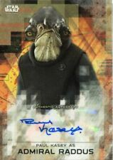 Star Wars Rogue One Series 2 Autograph Card Paul Kasey as Admiral Raddus