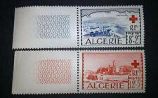 ALGERIE 1952 CROIX ROUGE / YT  N°300 & 301 /  NEUF MNH SUPERBE / COTE 9 euros
