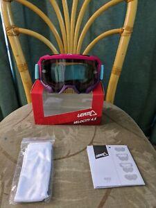 Leatt Velocity 4.5 Neon Pink Goggles