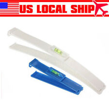 2pcs DIY Bangs Hair Care Cutting Clip Comb & Hair Leveling Trim Typing Tool US