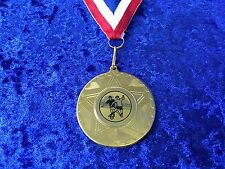 Set of 10 Bargain Medals on Ribbons Football Man Of The Match School Team Player