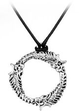 The Elder Scrolls Skyrim Dragon Ouroboros Pendant Necklace