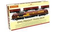 Hornby LIMITED EDITION of 1000 R3399 EWS Freight Train Pack DCC Ready OO Gauge