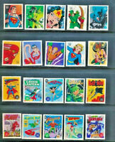 DC SUPER HEROES 4084 Cplt 2006 Set of 20 Mint NH VF Singles Retail Value $36.75