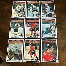 1982-83 O-pee-chee  CHICAGO BLACK HAWKS 18 card team set/ lot