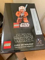 LEGO LUKE SKYWALKER STAR WARS GENTLE GIANT STATUE MAQUETTE NEW in Box