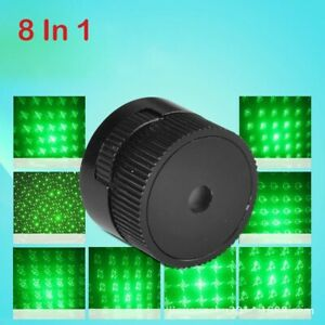 Green Laser Pointer Star Cap 8in1 Lasers 303 Strong Device Adjustable Focus
