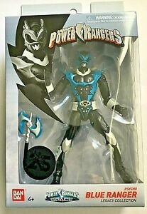 PSYCHO BLUE RANGER Saban's Power Rangers in Space Legacy Collection. In Stock!