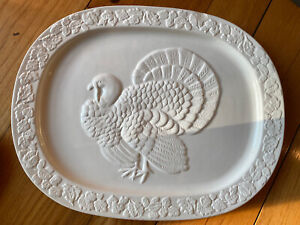 Martha Stewart Collection Exclusively For Macy's Turkey Platter Used