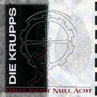 """DIE KRUPPS """"VOLLE KRAFT NULL ACHT"""" CD NEU"""