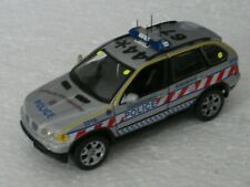 1/43rd Scale CODE3 BMW X5 HAMPSHIRE POLICE ARMED RESPONSE UNIT.