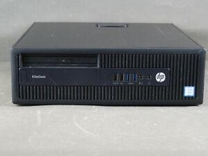 HP EliteDesk 800 G2 SFF, i3-6100, 8GB RAM, 500GB HDD, Win10 Pro