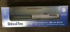 "New! Helen of Troy 1/2"" barrel Professional Brush Iron Curling Heat Hot  #1512"