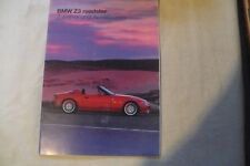 BMW Z3 ROADSTER ACCESSORY BROCHURE-GERMAN LANGUAGE