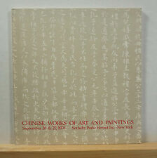 Sotheby's Chinese Works of Art and Paintings 9/26-27/1978 Ceramics Jades Snuff