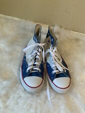 """Converse All Star  """"Hello My Name Is"""" Men's 6/ Women's 8"""