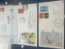 Netherlands 3 first flight FDC covers, Jedday, Tripoli & Tunis 1958/1960