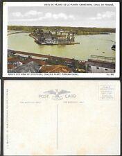 Old Panama Postcard - Bird's Eye View of Cristobal Coaling Plant