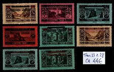 GRAND LIBAN :  Timbres TAXE 21 à 28, Neufs * = Cote 44 € / Lot COLONIES
