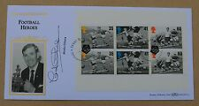 FOOTBALL HEROES BOOKLET PANE 1996 BENHAM FDC SIGNED BY FOOTBALLER MARTIN CHIVERS