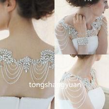 Luxury Wedding Jackets Shawl Rhinestone Beading Elegant Bridal Bolero Custom New