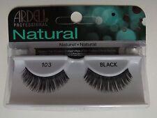 (LOT OF 72) Ardell Natural Lashes #103 False Fake Eyelashes Black Fashion