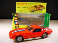 "POLITOYS E  "" Ghibli Maserati "" ref : 591 EXPORT (made in Italy) + Box"