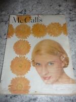 McCall's October 1948 stories recipes food fashion food Carter cut outs