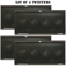 Lot of 4 NEW Pyle PLTWVS 6-Way Sunvisor Flush Mount 200 Watt Tweeters System