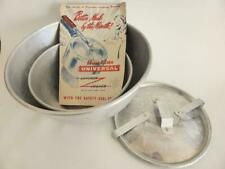 Vintage 1950s Pressure Cooker + Mixing Bowl & Instruction / Recipe Booklet
