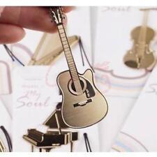 Cute Guitar Bookmark Marker Memo Check List Book Marks 10PCS Bulk Sale