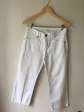 "Street One W28"" White Cropped Jeans <CH77"